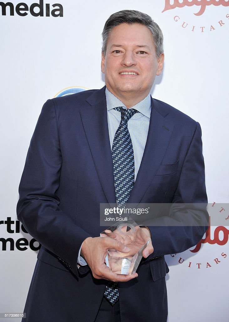 Netflix CCO Ted Sarandos attends UCLA Institute of the Environment and Sustainability annual Gala on March 24, 2016 in Beverly Hills, California.