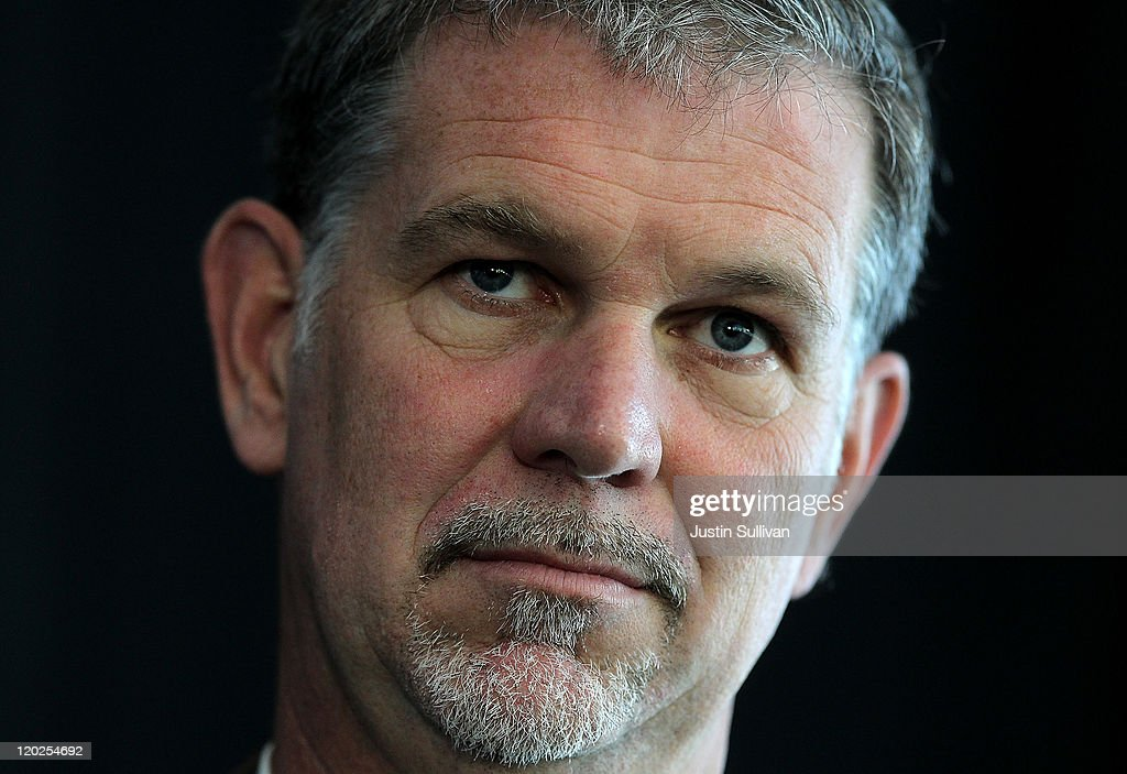 Netflix CEO Reed Hastings looks on during the President's Council on Jobs and Competitiveness High Growth Business and Entrepreneurship Listening and Action Session at the VMware headquarters on August 2, 2011 in Palo Alto, California. Jobs Council members, administration officials and Silicon Valley leaders spoke with entrepreneurs about how public and private sectors can partner to create jobs through innovation.