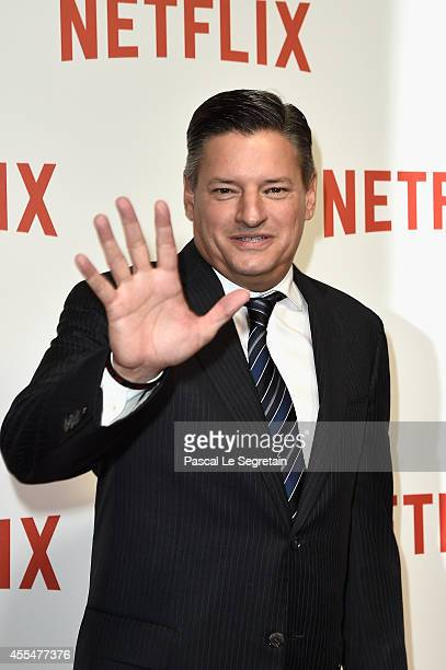 Netflix chief content officer Ted Sarandos attends the 'Netflix' Launch Party at Le Faust on September 15 2014 in Paris France