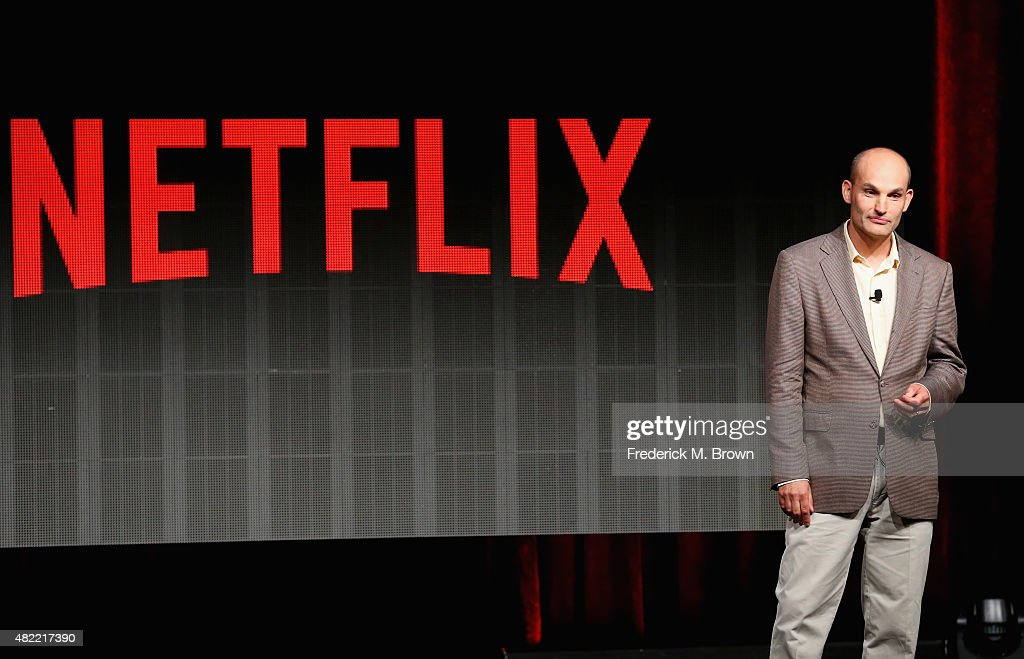 Netflix VP of Product Innovation Todd Yellin speaks onstage during the Your Netflix discussion at the Netflix portion of the 2015 Summer TCA Tour at...