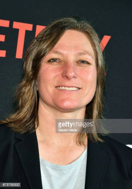 Netflix VP Original Content Cindy Holland attends 'Sense8' New York Premiere at AMC Lincoln Square Theater on April 26 2017 in New York City
