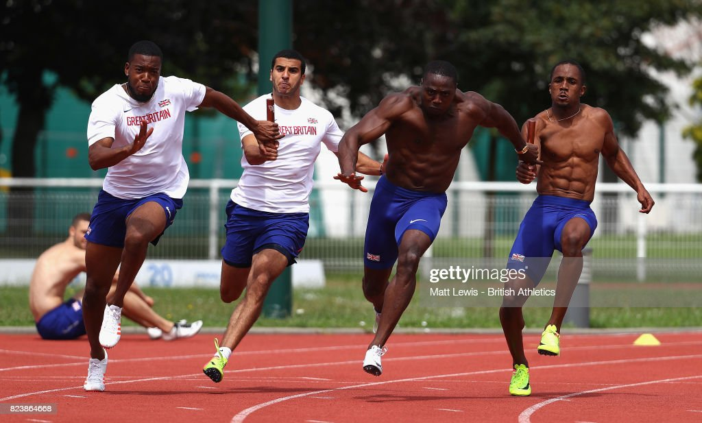 British Athletics Team World Championships Preparation Camp -Day 3