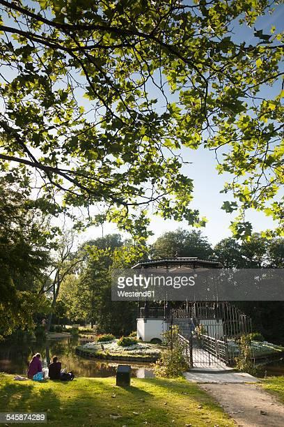 Netherlands, Amsterdam, Vondelpark, Pavillon