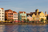 ANT Netherlands Antills Curacao Willemstad houses in the district Punda