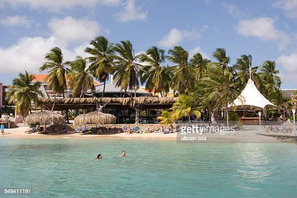 ANT Netherlands Antills Curacao Willemstad tourism beach of the Avila Beach Hotel