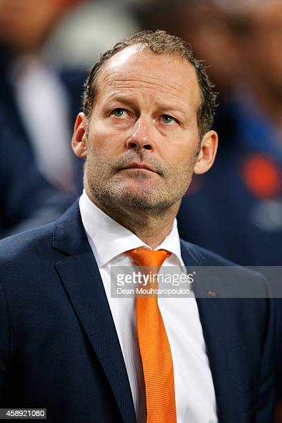 Netherlands Assistant Coach Danny Blind looks on prior to the international friendly match between Netherlands and Mexico held at the Amsterdam ArenA...