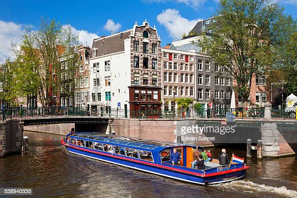 Netherlands, canal in Amsterdam