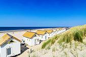 Netherlands, Domburg, beach houses