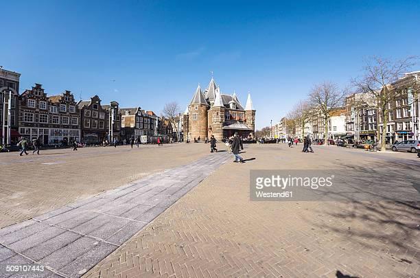 Netherlands, Holland, Amsterdam, Nieuwmarkt, Waag, Weigh house