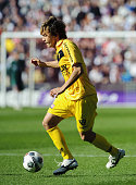 ROTTERDAM Netherlands Japan's Robert Cullen of Dutch first division side VVV Venlo dribbles with the ball in a soccer game against Feyenoord in...