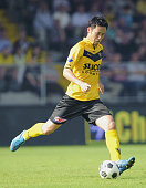 VENLO Netherlands Maya Yoshida of Dutch first division side VVV Venlo plays in the first half of a soccer game against AZ Alkmaar in Venlo the...