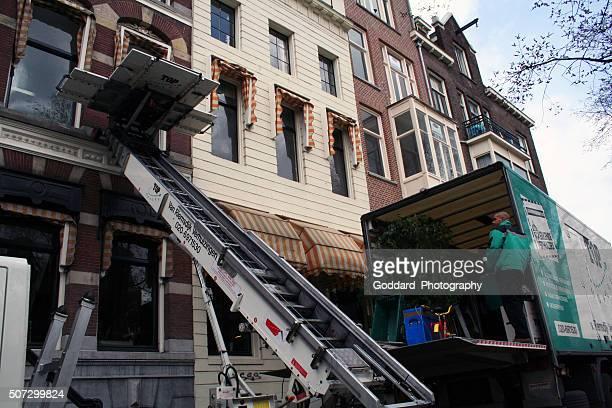 Pays-Bas : Déménageurs à Amsterdam