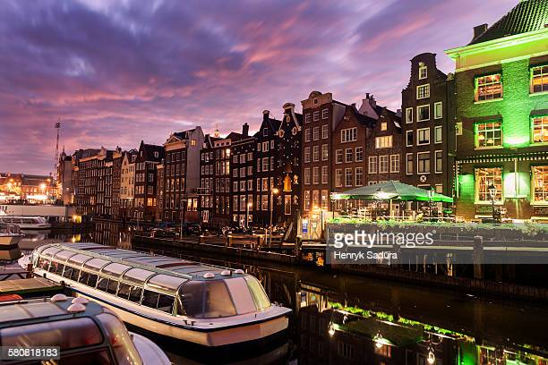 Netherlands, North Holland, Amsterdam, Architecture of Damrak