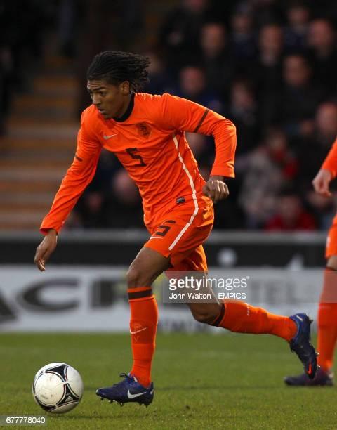 Netherlands' Patrick Van Aanholt
