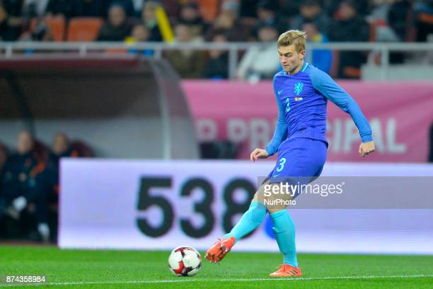 Netherlands' player Matthijs De Ligt during International Friendly match between Romania and Netherlands at National Arena Stadium in Bucharest...