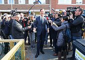 Voters Go To The Polls In The Dutch General Election