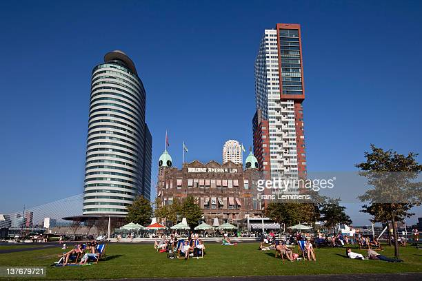 Netherlands, Rotterdam, district Kop van Zuid