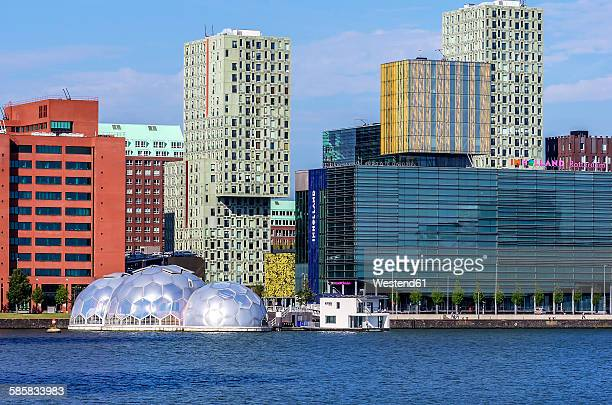 Netherlands, Rotterdam, Feijenoord, view to Floating Pavilion