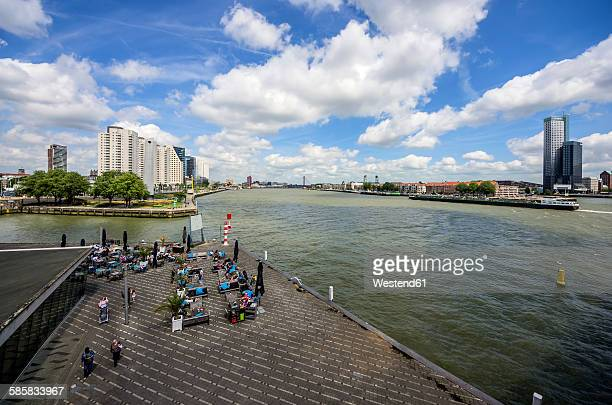 Netherlands, Rotterdam, view to Willemsplein