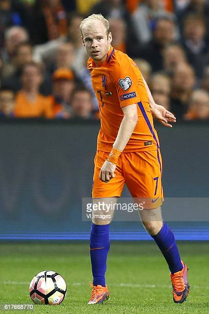 Netherlands v France FIFA World Cup group A 2016/2017 Davy Klaassen of Holland during the FIFA World Cup 2018 qualifying match between Netherlands...