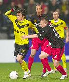 VENLO Netherlands VVV Venlo's Robert Cullen dribbles during a game against Excelsior Rotterdam in Venlo the Netherlands on Feb 25 2011 Cullen scored...