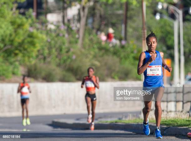 Netsanet Gudeta of Ethiopia established a commanding lead at the seven kilometre mark to set up her victory in the Ottawa 10K during the Tamarack...