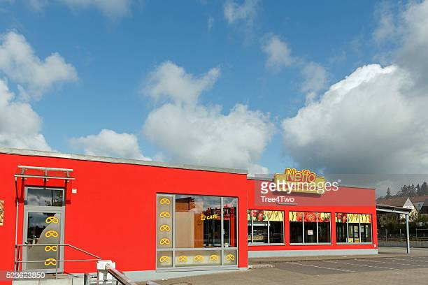 Netto supermarket store in the german town Amberg