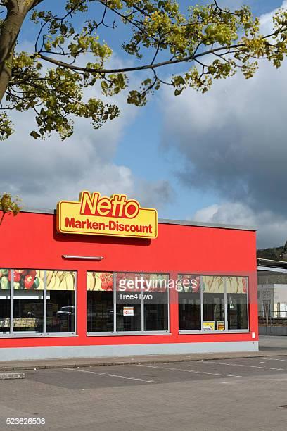 Netto supermercato negozio nella città tedesca Amberg