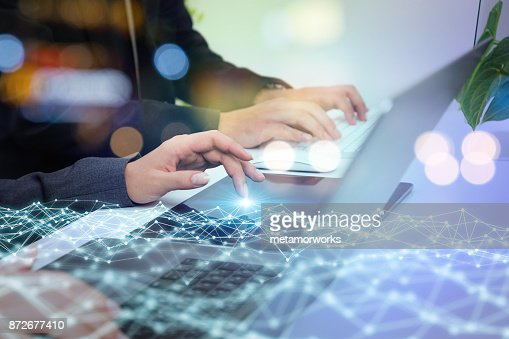 Network business concept. : Stock Photo
