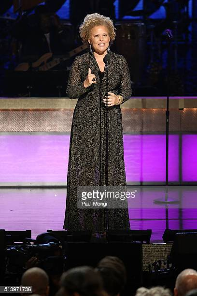 Network CEO Debra L Lee speaks on stage during the BET Honors 2016 Show at Warner Theatre on March 5 2016 in Washington DC
