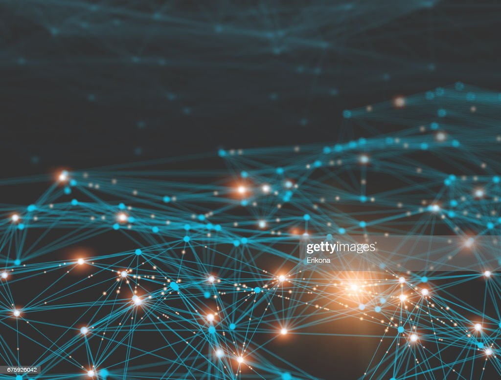 Network connection technology : Stock Photo
