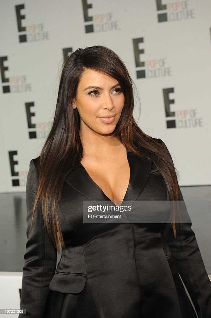 E! Network Events -- 'E! Entertainment 2013 Upfront at The Grand at Manhattan Center Studios' -- Pictured: Kim Kardashian --