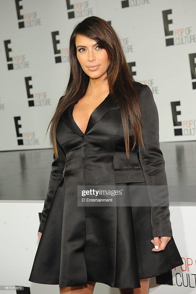 E! Network Events -- 'E! Entertainment 2013 Upfront at The Grand at Manhattan Center Studios' -- Pictured: Kim Kardashian --