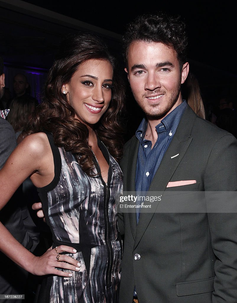 E! Network Events -- 'E! Entertainment 2013 Upfront at The Grand at Manhattan Center Studios' -- Pictured: (l-r) Danielle Jonas, Kevin Jonas --