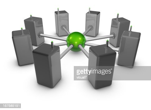 Netzwerk : Stock-Foto