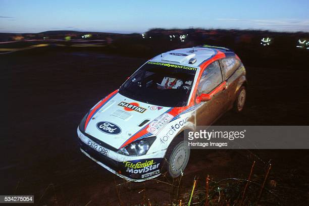 Network Q RallyColin Mcrae in Ford Focus RS WRC 2000