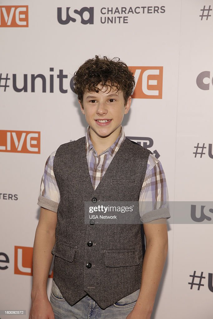 'USA Network, R&R Partners Foundation?s Flip the Script, Cox Communications and MGM Resorts International host #UniteLIVE: The Concert to Rock Out Bullying headlined by recording artist Carly Rae Jepsen' -- Pictured: Nolan Gould from Modern Family --
