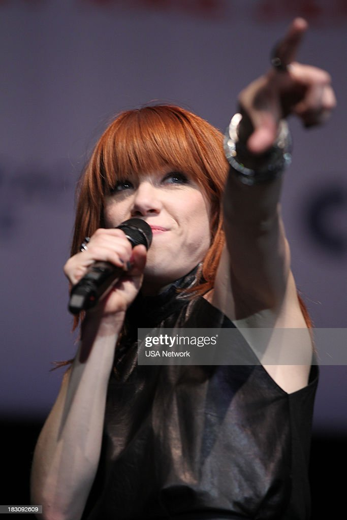 Network, R&R Partners Foundation?s Flip the Script, Cox Communications and MGM Resorts International host #UniteLIVE: The Concert to Rock Out Bullying headlined by recording artist Carly Rae Jepsen' -- Pictured: Carly Rae Jepsen --