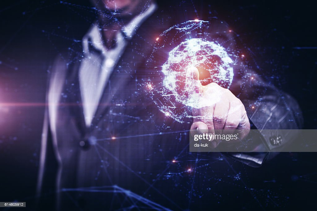 Network under control : Stock Photo
