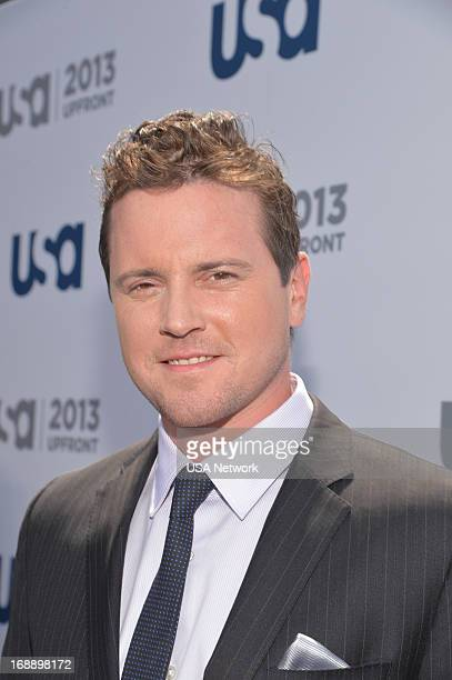 EVENTS '2013 USA Network Upfront at Pier 36 in New York City on Thursday May 16 2013' Pictured Michael Mosley