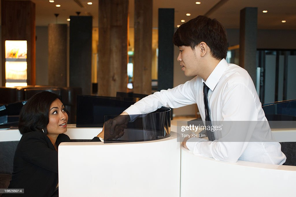 Networking at Work : Stock Photo