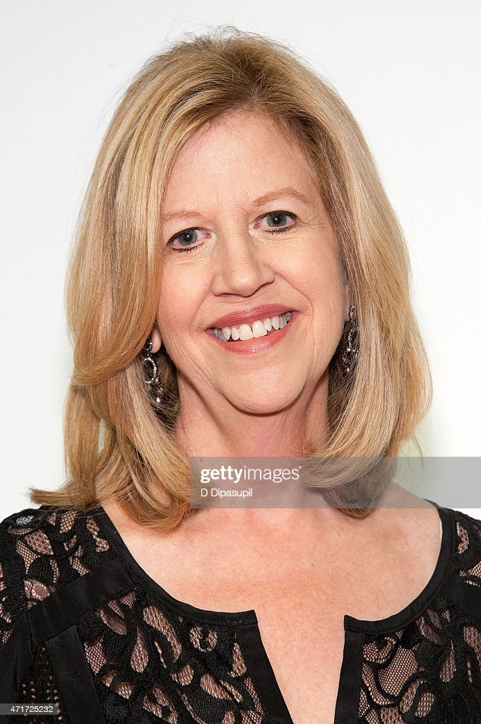 Networks chairman emeritus Abbe Raven attends AE Network's 2015 Upfront at Park Avenue Armory on April 30 2015 in New York City