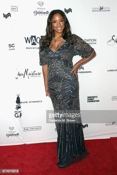 Networks' Senior Vice President Kim Lewis attends the Wearable Art Gala at California African American Museum on April 29 2017 in Los Angeles...