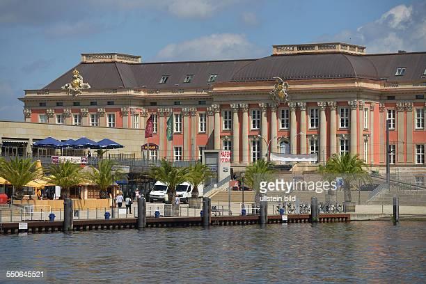 Neuer Landtag Alter Markt Potsdam Brandenburg Deutschland