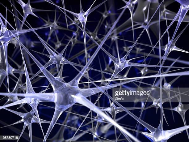 Neutrale Netzwerk Abstrakter Hintergrund
