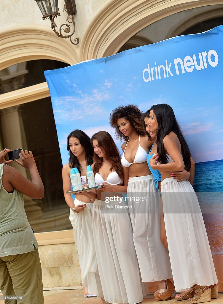 'Neuro Brand Ambassadors' during Neuro Drinks At LudaDay Weekend Celebrity Pool Party on September 2, 2013 in Atlanta, Georgia.