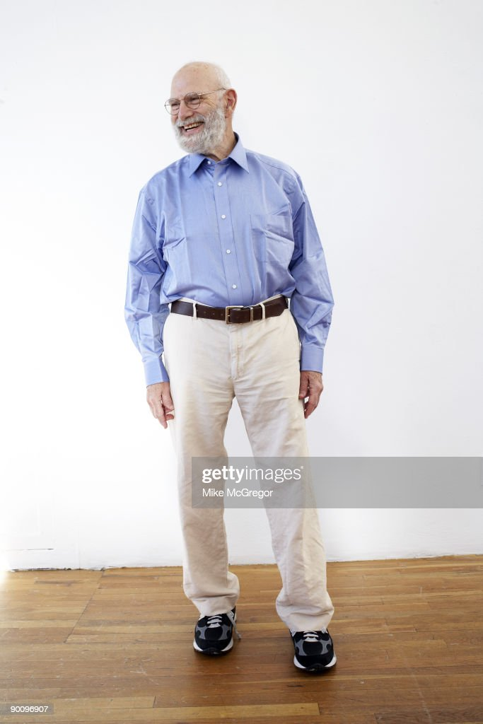 Neurologist and author <a gi-track='captionPersonalityLinkClicked' href=/galleries/search?phrase=Oliver+Sacks&family=editorial&specificpeople=597933 ng-click='$event.stopPropagation()'>Oliver Sacks</a> poses at a portrait session for AARP Magazine in September, 2007.