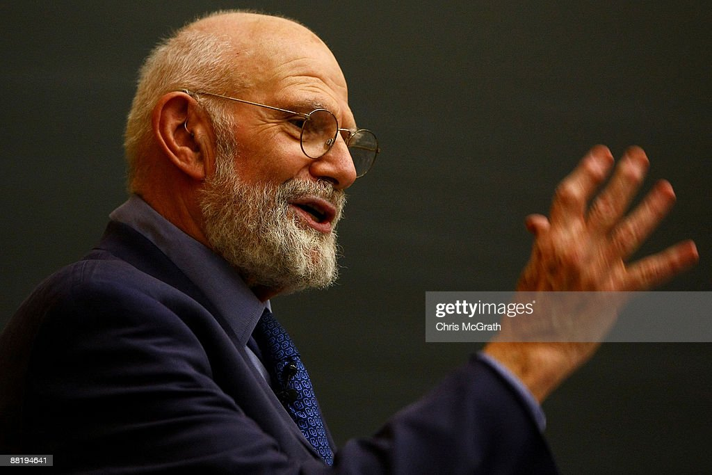 Neurologist Dr. <a gi-track='captionPersonalityLinkClicked' href=/galleries/search?phrase=Oliver+Sacks&family=editorial&specificpeople=597933 ng-click='$event.stopPropagation()'>Oliver Sacks</a> speaks at Columbia University June 3, 2009 in New York City. Dr. Sacks, who was appointed Professor of Neurology and Psychiatry at Columbia University Medical Center in 2007, is the author of several bestselling books. His 1973 book 'Awakenings' was adapted into the Academy Award-nominated film of the same name starring Robert De Niro and Robin Williams and his latest book is 'Musicophilia: Tales of Music and the Brain'.