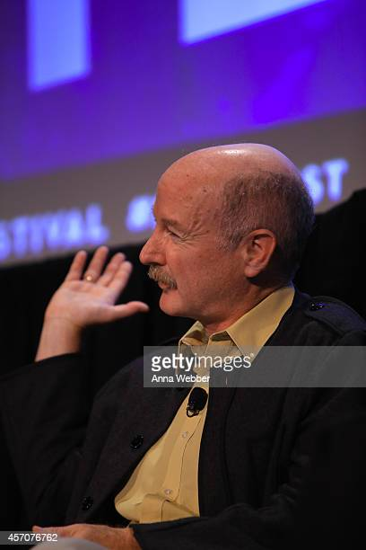 Neurology Professor at Columbia University Raphael Yuste speaks during the New Yorker Festival 2014 Map Of Your Brain With Cori Bargmann Miyoung Chun...