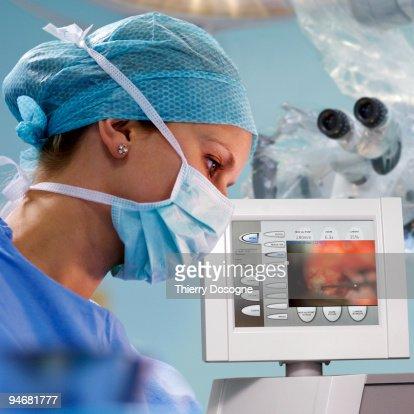 Neurosurgery, brain operation